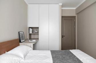 富裕型130平米三室两厅北欧风格青少年房图