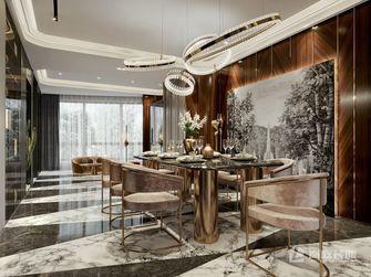 20万以上120平米三室两厅轻奢风格餐厅图片大全