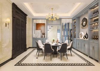 豪华型140平米四室三厅美式风格餐厅欣赏图