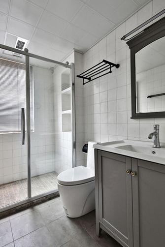 10-15万90平米三室两厅北欧风格卫生间图片大全