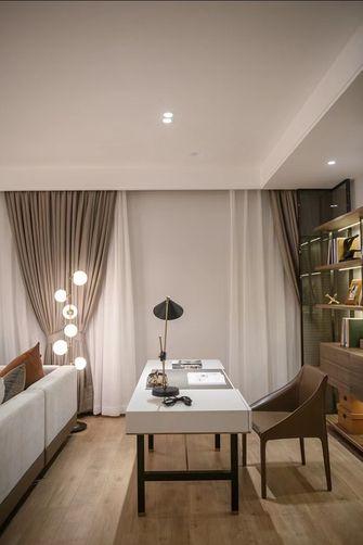 经济型70平米一室两厅轻奢风格书房装修图片大全