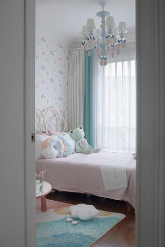 豪华型140平米四室三厅轻奢风格卧室装修图片大全