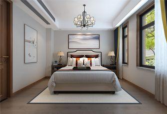 20万以上140平米别墅中式风格卧室图片大全