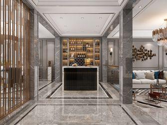 富裕型120平米三室两厅英伦风格玄关装修效果图