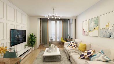 15-20万140平米复式英伦风格客厅图片大全