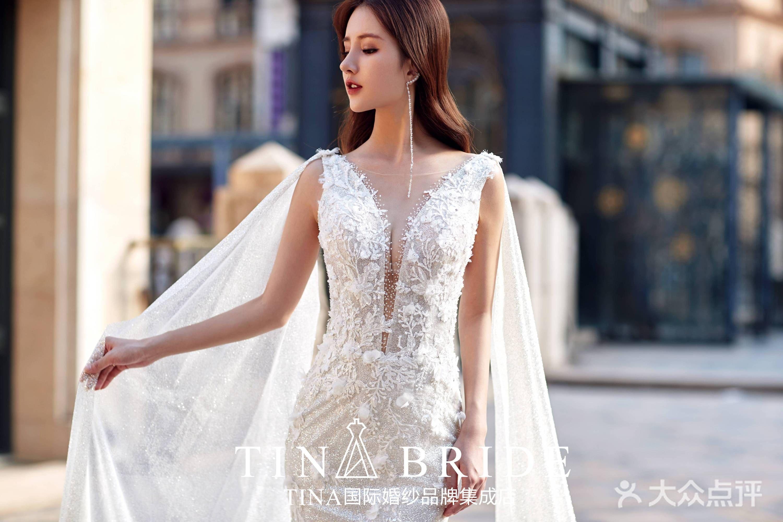 TINA新娘造型的图片