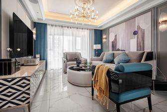 富裕型130平米三室两厅美式风格客厅欣赏图
