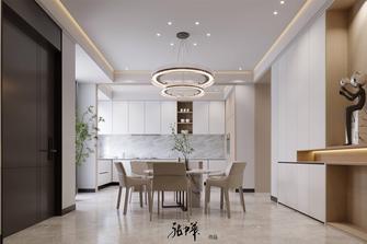 豪华型140平米复式现代简约风格餐厅装修案例