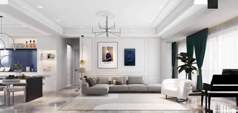 140平米四室两厅北欧风格客厅装修效果图