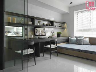 100平米三室两厅港式风格书房效果图