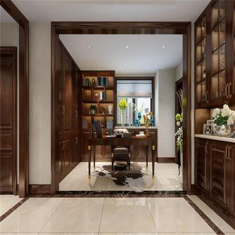 20万以上140平米四室两厅中式风格书房图