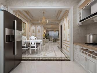 130平米三室两厅法式风格厨房图