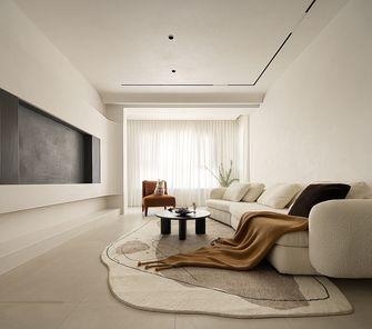 富裕型110平米三室两厅混搭风格客厅设计图