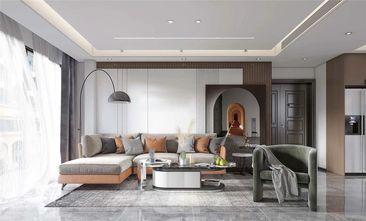 经济型120平米三室一厅混搭风格客厅图片