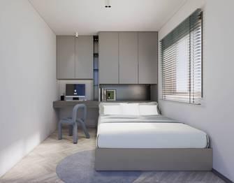 豪华型130平米三室两厅现代简约风格青少年房图片