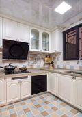 富裕型140平米四室两厅美式风格厨房效果图