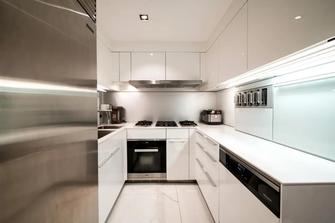 140平米美式风格厨房装修图片大全