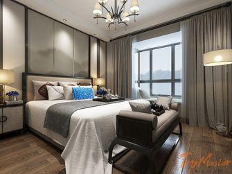 140平米三室两厅中式风格阳台图片大全