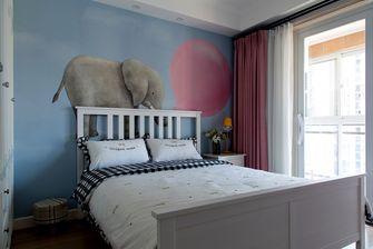 富裕型130平米三室两厅欧式风格青少年房效果图