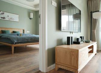 富裕型120平米三室一厅中式风格卧室图