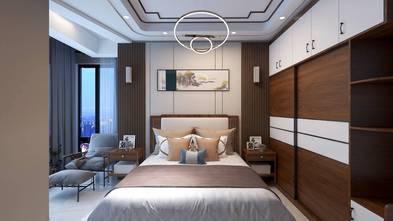 100平米三室两厅中式风格卧室装修效果图