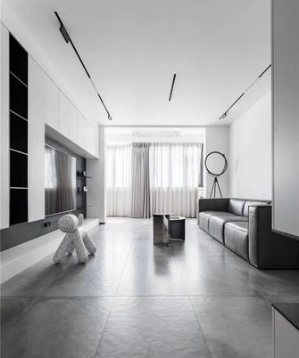 经济型110平米四室一厅现代简约风格客厅设计图