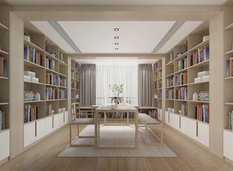 豪华型140平米复式新古典风格书房图片