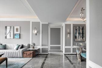 富裕型90平米三室两厅欧式风格走廊装修效果图