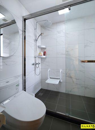 经济型80平米三室两厅日式风格卫生间图片