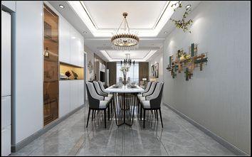 15-20万120平米三室两厅轻奢风格餐厅设计图