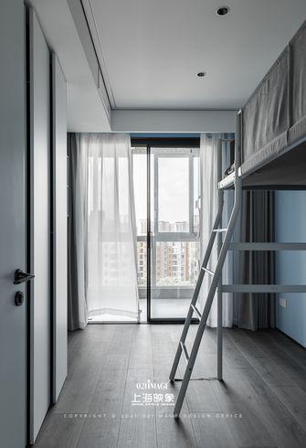 富裕型三室两厅现代简约风格青少年房图片