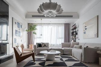 富裕型110平米三室两厅日式风格客厅欣赏图