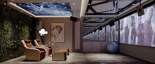 豪华型140平米四室三厅美式风格其他区域图片大全