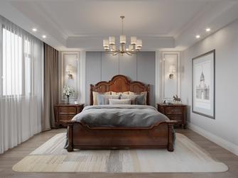 20万以上130平米三室一厅美式风格卧室装修案例