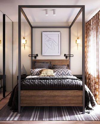 3-5万30平米小户型美式风格卧室装修效果图