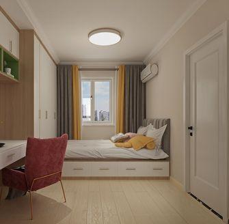 富裕型130平米四室两厅北欧风格卧室图片大全