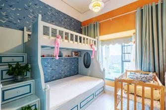 130平米三室两厅轻奢风格青少年房效果图