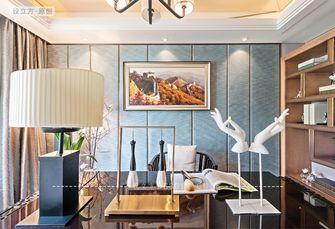 15-20万140平米三室一厅新古典风格书房欣赏图