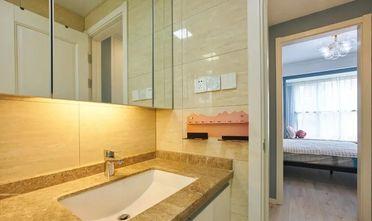 5-10万90平米三室一厅北欧风格卫生间设计图
