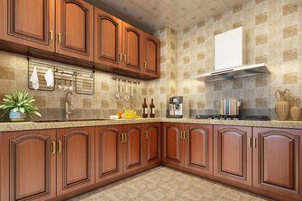 140平米三室两厅混搭风格厨房效果图