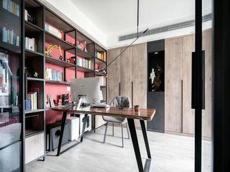 富裕型140平米三室两厅中式风格书房装修案例