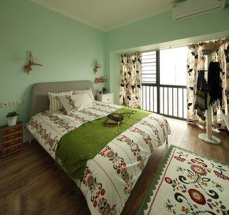 富裕型80平米田园风格卧室效果图