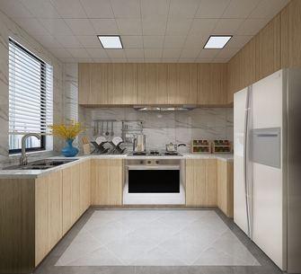 豪华型130平米三室两厅北欧风格厨房图片大全