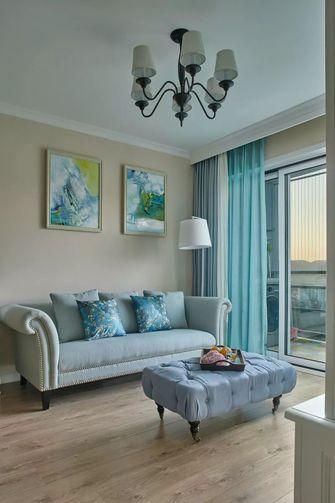 经济型90平米一室一厅美式风格餐厅欣赏图