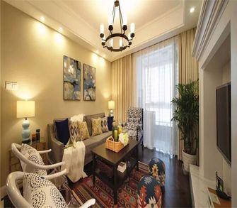 5-10万90平米美式风格客厅欣赏图