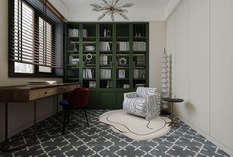 140平米三室两厅欧式风格书房装修效果图