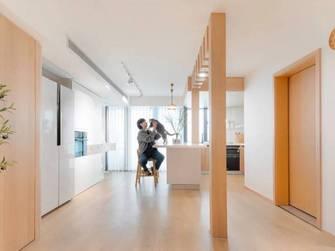 130平米四室两厅日式风格客厅效果图