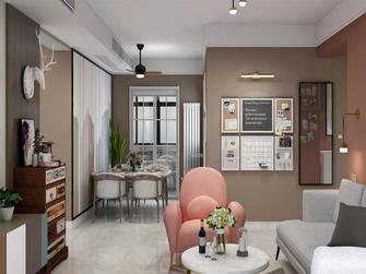 经济型130平米四北欧风格客厅装修案例
