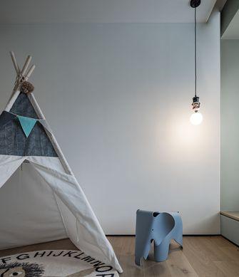 富裕型120平米三室两厅北欧风格书房设计图