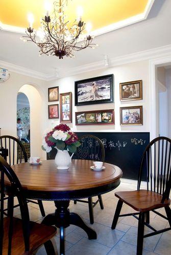 10-15万140平米四室一厅混搭风格餐厅图片